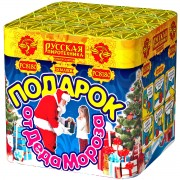 "Фейерверк Подарок от Деда Мороза (1,2"" х 25)"