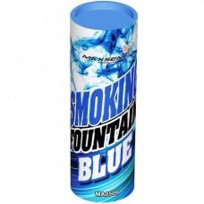 Дымовой фонтан - синий (1 шт)