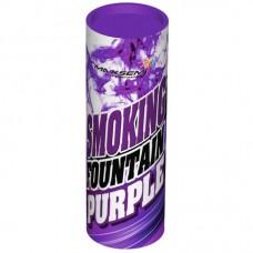 Дымовой фонтан - фиолетовый (1 шт)