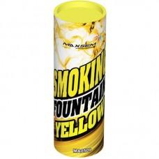 Дымовой фонтан - желтый (1 шт)