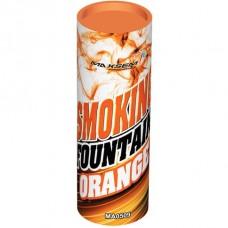 Дымовой фонтан - оранжевый (1 шт)