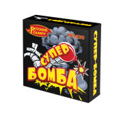 Петарды Супер-Бомба (упаковка 4 шт)